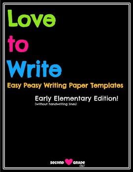 Love to Write Templates