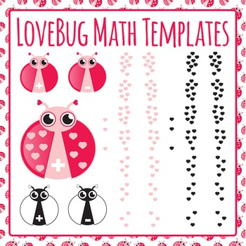 LoveBug Math Templates - Addition and Subtraction 0-9 Comm