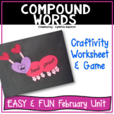 Valentine Craftivity - Compound Words