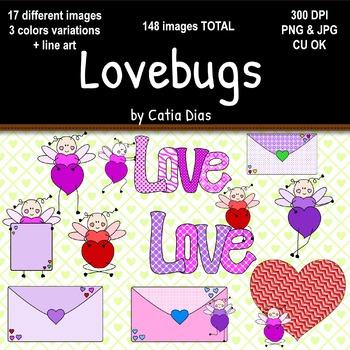 Lovebugs Clip Art