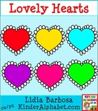 Lovely Hearts {Commercial Use Clip Art for Teachers}