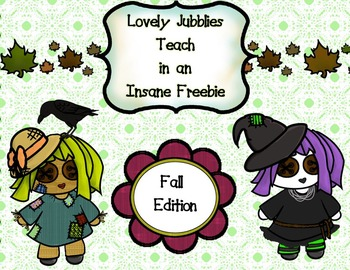 Lovely Jubblies in an Insane Freebie: Fall Edition