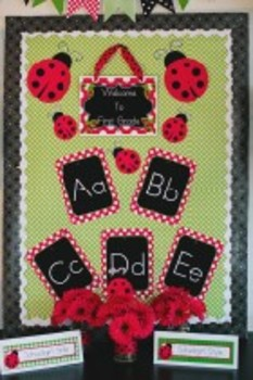 Classroom Decor Lovely Ladybugs Welcome Sign - Print