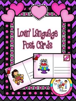 Lovin' Language Post Cards