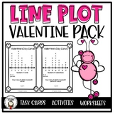 Valentine's Day Activities - Lovin' Line Plots Bundle