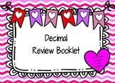 Loving Decimals:  A Decimal Review Booklet