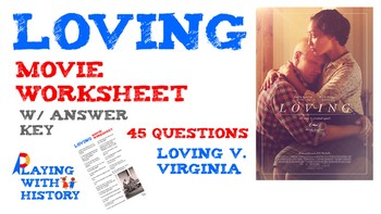 Loving Movie Worksheet - Civil Rights Loving v. Virginia S