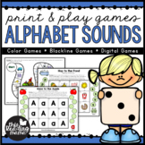 Low Prep Beginning Sounds Games