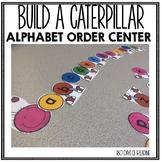 Lower Case Letter Alphabet Order Caterpillar