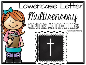 Lower Case Letter t Alphabet Center Activities