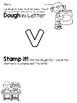 Lower Case Letter v Alphabet Center Activities