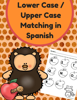 Lower / Upper Case Letters in Spanish (Letras minusculas y