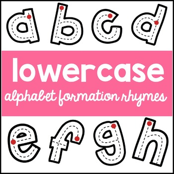 letter formation rhymes lowercase alphabet formation rhymes by teaching 22836 | original 2286672 1