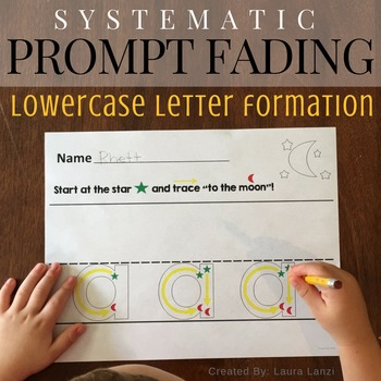 Lowercase Letter Trace