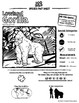 Lowland Gorilla -- 10 Resources -- Coloring Pages, Reading