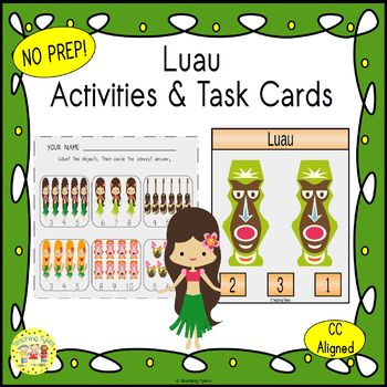 Luau Worksheets Activities Games Printables and More