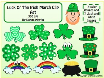 St. Patrick's Day March Clip Art
