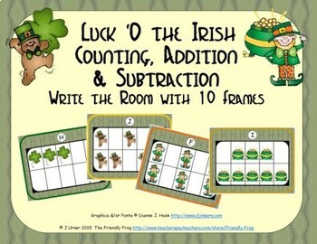 Luck O the Irish Counting, Addition & Subtraction with Ten