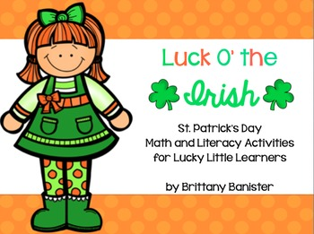 Luck O' the Irish:  Math and Literacy Activities for Littl