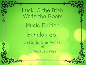Luck 'O the Irish Write the Room SOLFA Music Edition Bundl