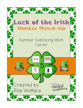 Luck of the Irish! Number Math Center