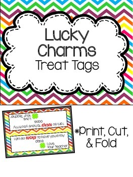Lucky Charms Treat Tag