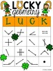 Lucky Geometry- a Game for Lines and Angles {FREEBIE}