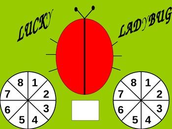 Lucky Ladybug -  (+,-,)