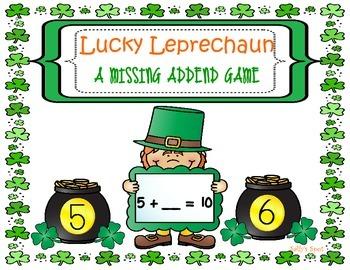 Lucky Leprechaun A Missing Addend Game