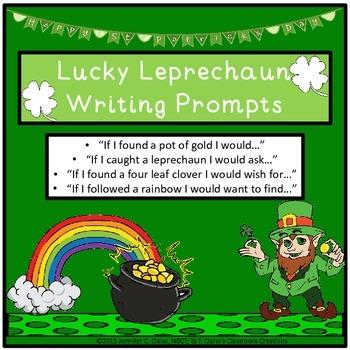 Lucky Leprechaun Writing Prompts