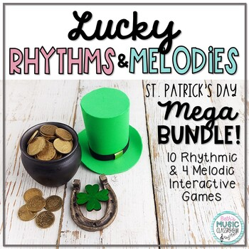 Lucky MEGA BUNDLE for St. Patrick's Day: 14 Interactive Rh