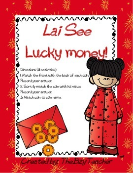 Lucky Money Chinese New Year
