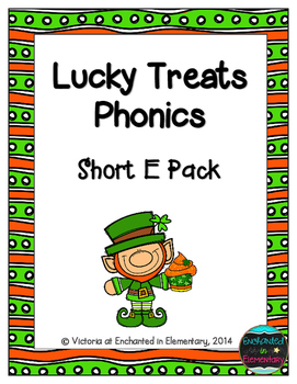 Lucky Treats Phonics: Short E Pack