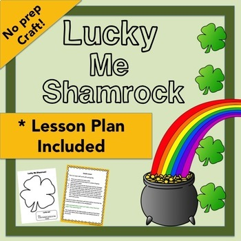 Lucky me shamrock - Quick craft with no prep!