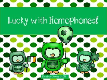 Lucky with Homophones!
