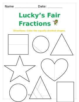 Lucky's Fair Fractions