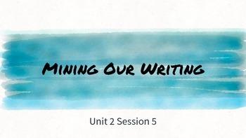 Lucy Calkins Unit 2 Session 5 - 4th Grade