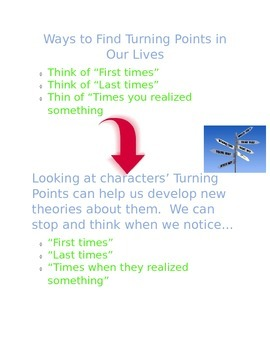 Lucy Calkins 5th grade charts Unit One