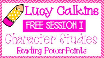 Lucy Calkins, Grade 3, Reading - Character Studies Unit, S