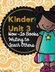 Lucy Calkins Kinder Writing Units of Study Teacher Binder Covers