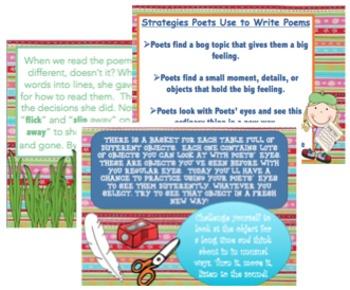 Lucy Calkins Poetry (Grade 2) Bend 1
