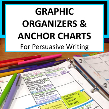 Graphic Organizers and Anchor Charts