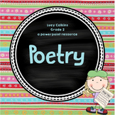 Lucy Calkins Poetry (Grade 2)*** ENTIRE UNIT***