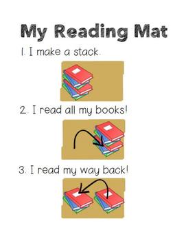 Lucy Calkins Reading Book Mats