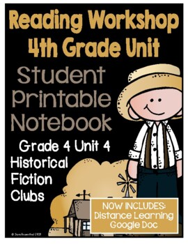 Lucy Calkins Reading Workshop - 4th Grade Notebook - Unit 4
