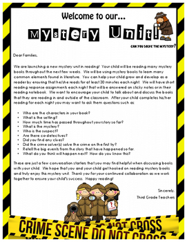 Lucy Calkins Reading Workshop Mystery Unit Grade 3 Lesson