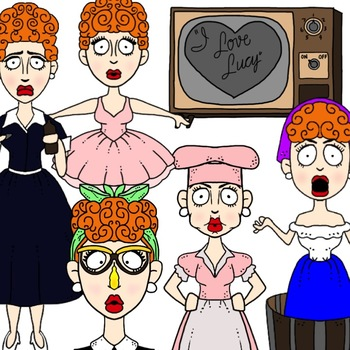 Lucy Clip Art Collection