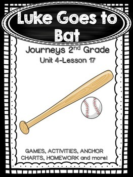 Luke Goes to Bat Journeys 2nd Grade (Unit 4 Lesson 17)