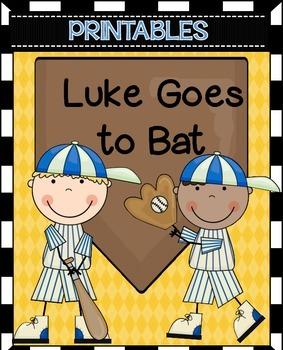Luke Goes to Bat Worksheets Journeys 2nd Grade