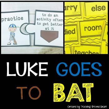 Luke Goes to Bat Journeys Second Grade